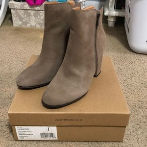 BRAND NEW IN BOX Lucky Brand Shaynah Booties